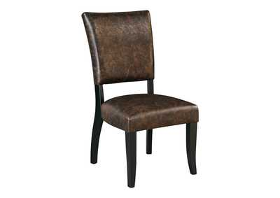 Image for Sommerford Brown Dining Upholstered Side Chair (Set of 2)