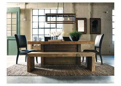 Sommerford Brown Large Dining Room Bench,Signature Design By Ashley