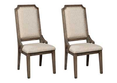 Wyndahl Brown Dining Chair (Set of 2)