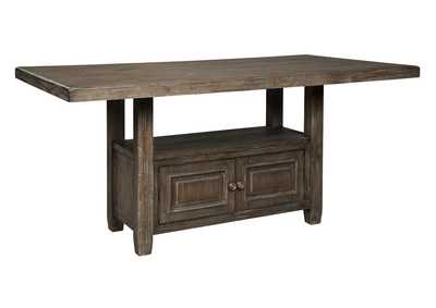 Wyndahl Brown Counter Dining Table