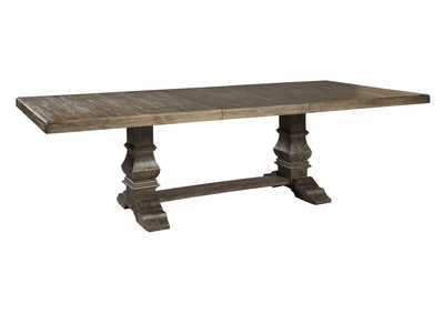 Wyndahl Brown Dining Table
