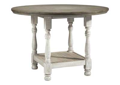 Havalance White/Gray Counter Dining Table