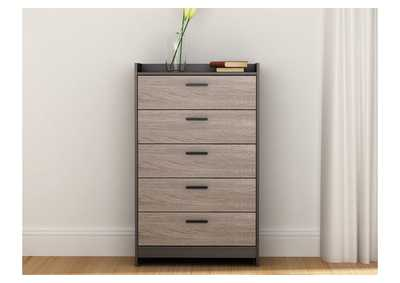Central Park Two-Tone Chest of Drawers