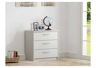 Image for Finch White Chest of Drawers