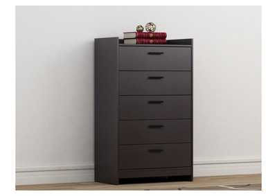 Central Park Black Chest of Drawers