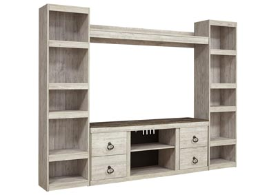 Image for Willowton Whitewash Entertainment Center