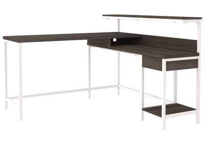Image for Dorrinson Two-Tone Home Office Desk