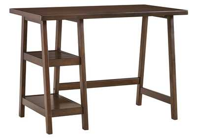 Image for Lewis Medium Brown Home Office Small Desk