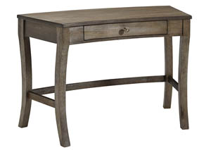 Vintelli Grayish Brown Home Office Desk