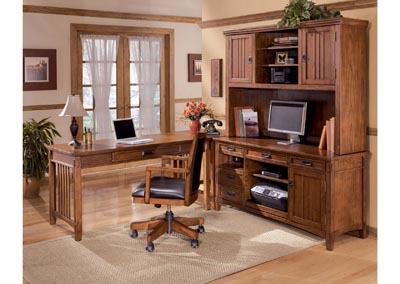 Cross Island 4-Piece L-Shape Desk
