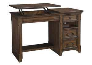Woodboro Brown Home Office Lift Top Desk