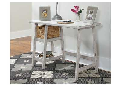 Mirimyn Antique White Home Office Small Desk,Signature Design By Ashley