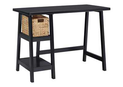 Mirimyn Black Home Office Small Desk