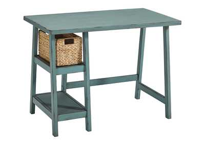Image for Mirimyn Teal Home Office Small Desk