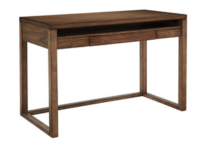 Baybrin Rustic Brown Home Office Small Desk