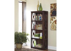 Curly's Furniture Starmore Brown Bookcase