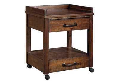 Baldridge Brown Printer Stand