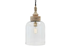 Faiz Transparent Glass Pendant Light,Signature Design By Ashley