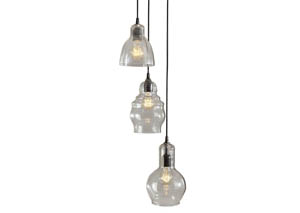Adelphia Clear Glass Pendant Light