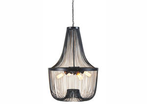 Jessika Black Metal Pendant Light