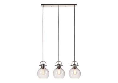 Image for Johano Gray Glass Pendant Light