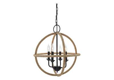 Madelia Tan Pendant Light (1/CN)