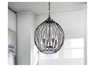 Maalik Brown Pendant Light
