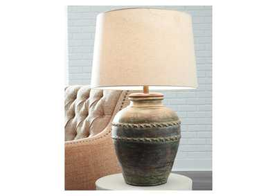 Mairead Green Table Lamp