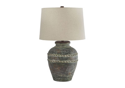 Mairead Green Terracotta Table Lamp