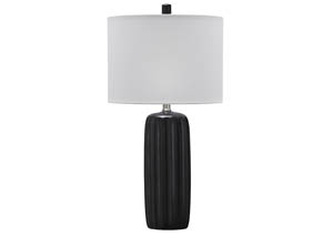 Adorlee Black Ceramic Table Lamp (Set of 2)