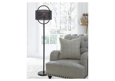 Majed Brown Floor Lamp