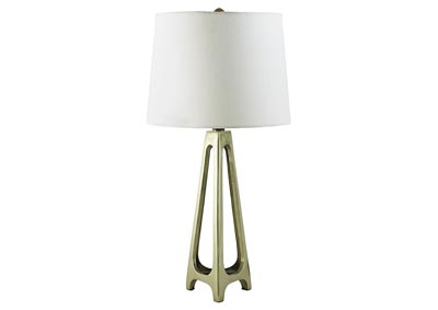 Howard Gold Finish 2 Piece Metal Table Lamp Set