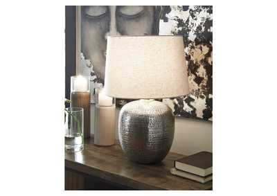 Magalie Gray Table Lamp