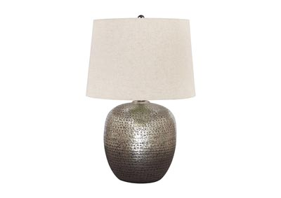 Magalie Silver Table Lamp