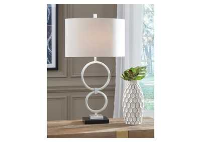 Mansoor Gray Table Lamp (Set of 2)