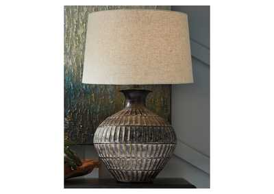 Image for Magan Bronze Table Lamp