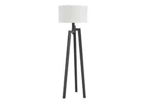 Dark Bronze Finish Metal Floor Lamp