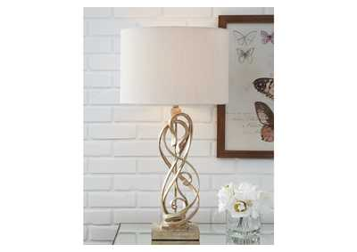 Image for Edric Gold Table Lamp
