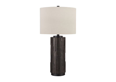Image for Makya Black Poly Table Lamp (Set of 2)