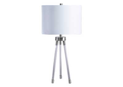 Image for Idalia Clear/Silver Table Lamp