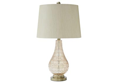 Latoya Champagne Glass Table Lamp