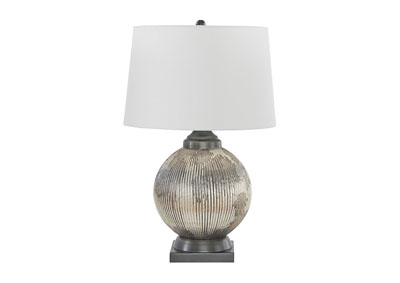 Cailan Silver/Bronze Table Lamp