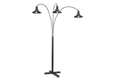 Image for Black Metal Arc Lamp