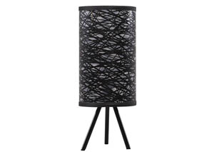 Nettie Black Metal Table Lamp