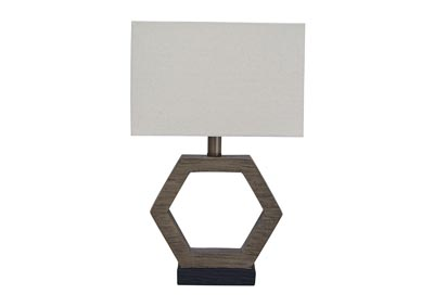 Marilu Gray/Brown Table Lamp