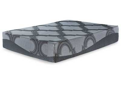 Image for 12 Inch Ashley Hybrid Gray King Mattress