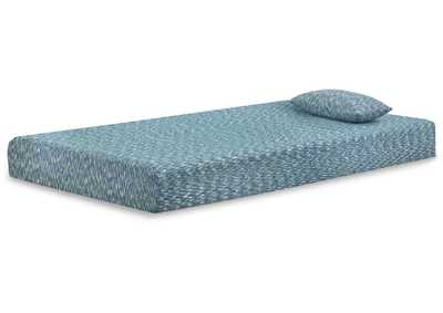 Image for iKidz Blue Twin Mattress and Pillow