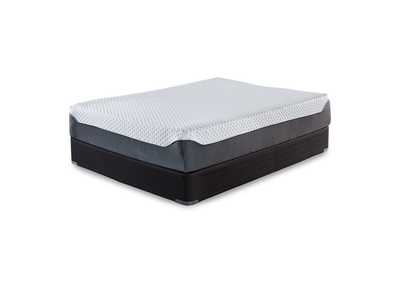 12 Inch Chime Elite Memory Foam California King Mattress w/Foundation