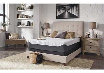 12 Inch Chime Elite Memory Foam California King Mattress w/Foundation,Sierra Sleep by Ashley