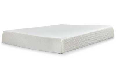"Image for Chime 10"" White Memory Foam Full Mattress"